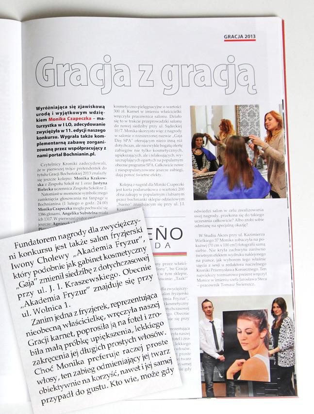 Salon Fryzjerski Bochnia Akademia Fryzur Iwona Cholewa